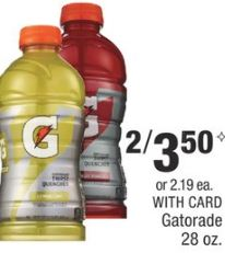 Gatorade cvs deal