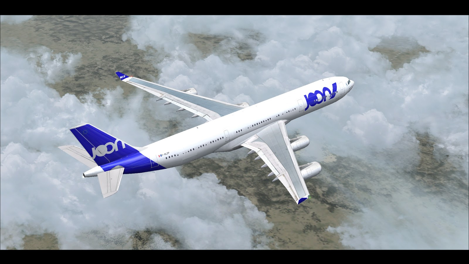 FSRepainter: CLS A340-300 JOON F-GLZP