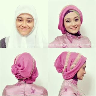 Hijab untuk kebaya saat wisuda
