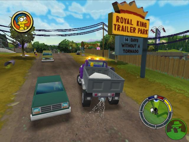 Los Simpsons Hit And Run