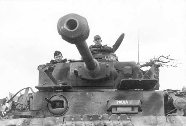 Panzer IV with muzzle brake worldwartwo.filminspector.com