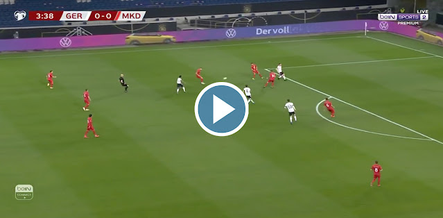 Germany vs North Macedonia Live Score