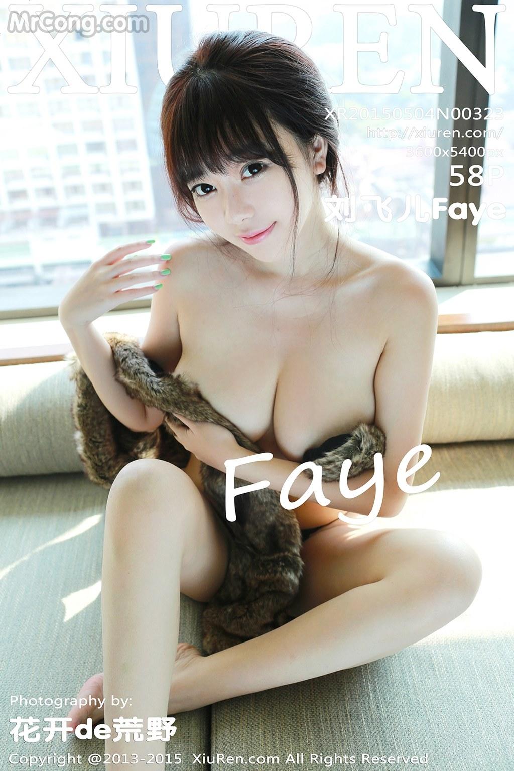 XIUREN No.323: Người mẫu Faye (刘飞儿) (59 ảnh)