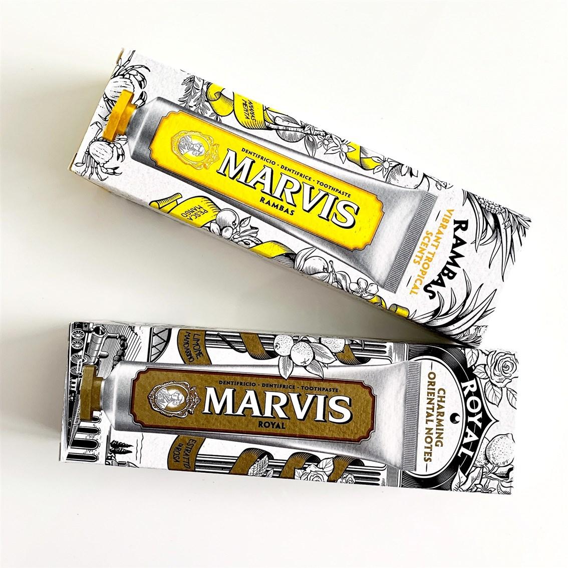 Marvis pasty do zębów opinie
