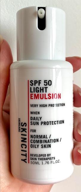 Skin City Skincare SPF 50 Light Emulsion