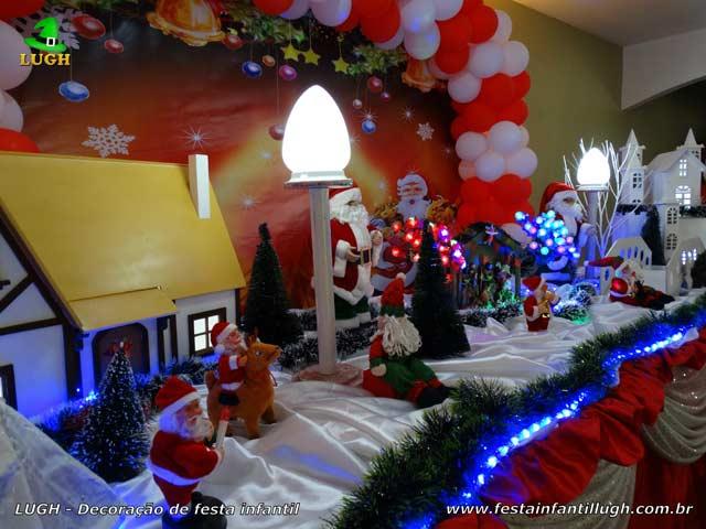 Decoração de aniversário infantil tema Natalino