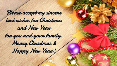 Christmas and New Year Greetings Messages