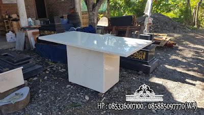 Meja Marmer Asli, Meja Marmer Granit, Meja Marmer Kecil