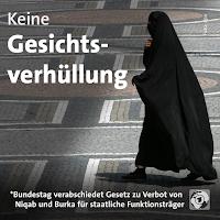 Deutschland: Burkaverbot für Beamte etc.