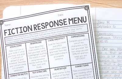 editable-reading-response-menus