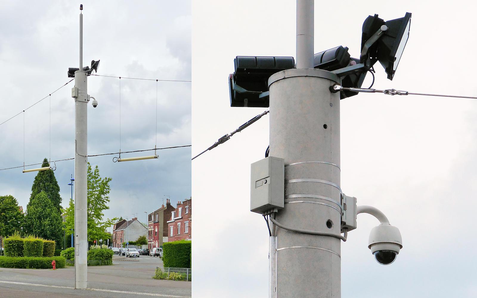 Caméra Vidéosurveillance Tourcoing - Pont de Neuville