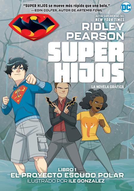 Review de Super hijos: El proyecto Escudo Polar de Ridley Pearson - Editorial Hidra
