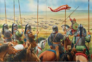 schieramenti nella battaglia dei campi catalaunici
