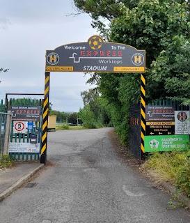 Entrance to Handsworth FC, Sheffield