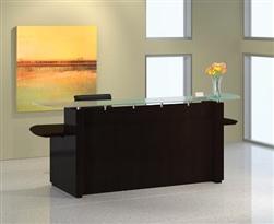 Sterling Mocha Reception Desk