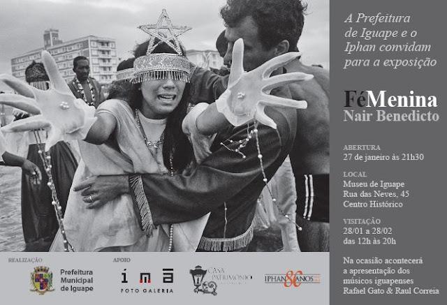 """Exposição """"Fé Menina"""" em Iguape"""