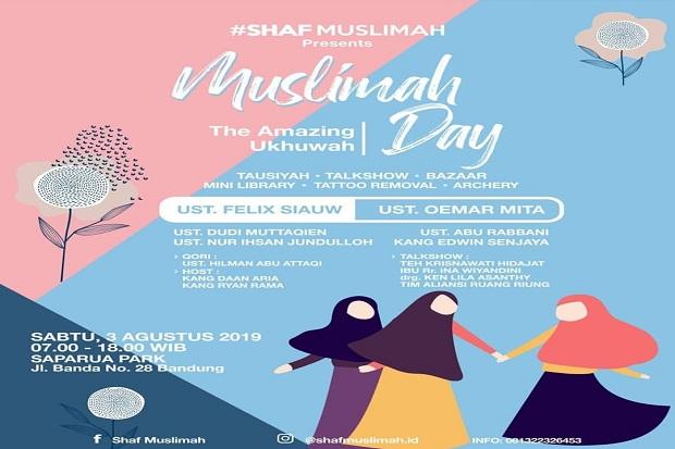 Dipantau Kemenag, Felix Siauw Tampil di Muslimah Day Sabtu 3 Agustus 2019
