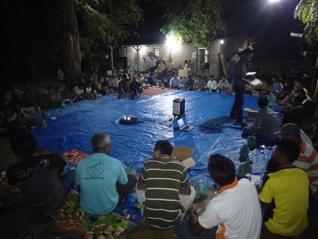 Caleg DPR-RI Syahrianto Temu Ramah dengan Ratusan Warga Kampung Nelayan Sentang