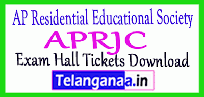 APRJC Hall Tickets Donload