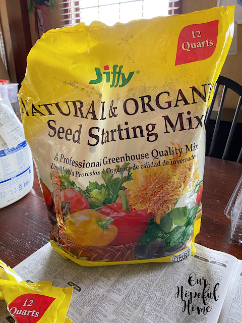 bag Jiffy Natural Organic Seed Starting Mix