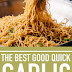 The Best Good Quick Garlic Noodles (So Easy Too!)