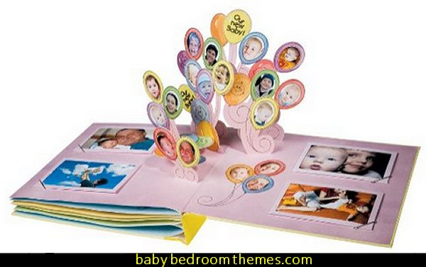 Baby Pop-Up Photo Album baby