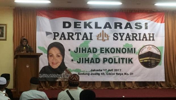 Alumni Aksi 212 Deklarasikan Partai Syariah