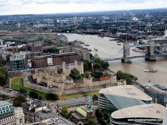 el mirador más famoso de Londres y gratis