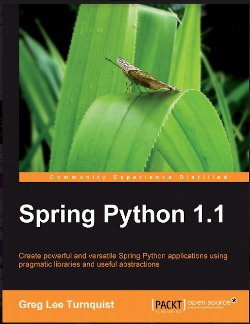 Spring Python 1.1 by Greg Lee Trunquist