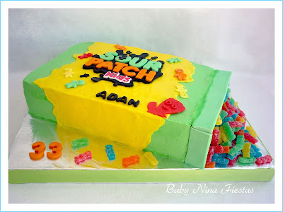 tarta de crema sour patch
