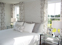 Neat bright bedroom design and decor ideas with gray color