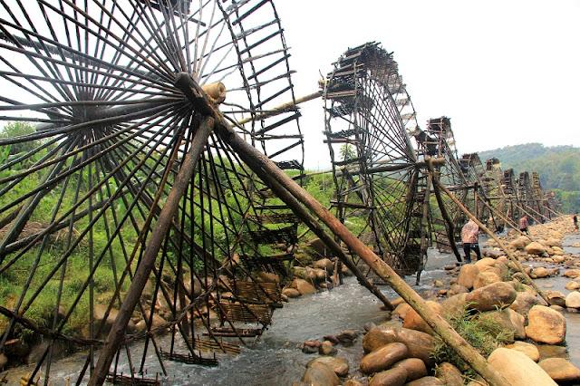 Waterwheel - a unique structure in Lai Chau 1