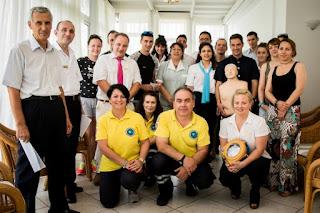 Η Διασωστική Ομάδα Πιερίας εκπαιδεύει το προσωπικό του Grecotel