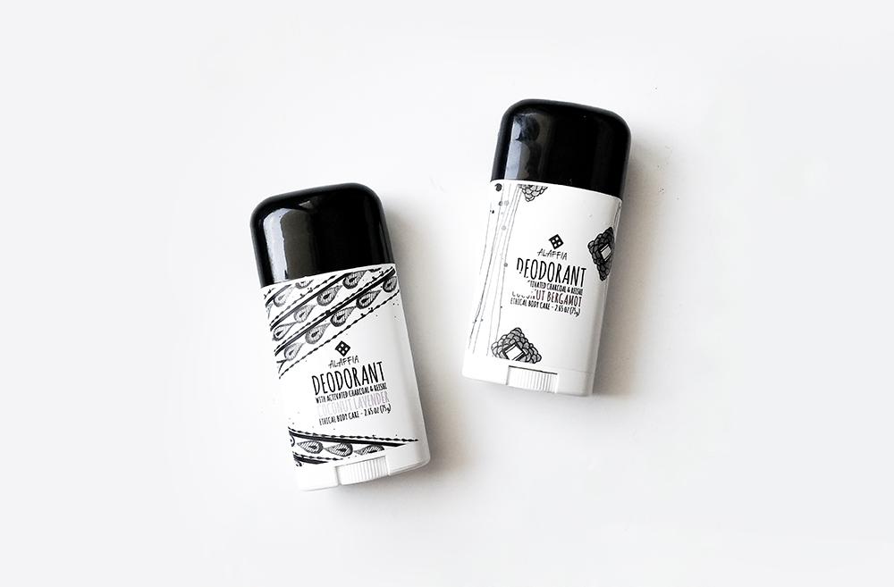 A shopper ce mois-ci︱Le dédorant sans bicarbonate Alaffia
