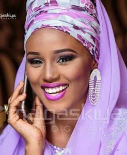 new wife of emir of kano Sa'adatu Barkindo-Musdafa,