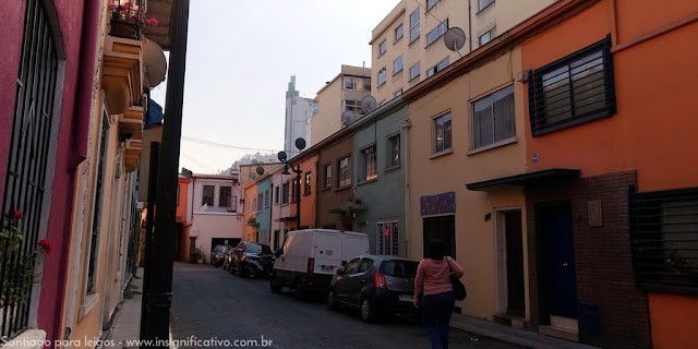 Chile - Santiago - Calle Calle José Arrieta