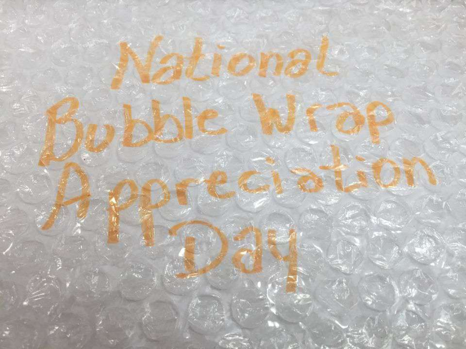 National Bubble Wrap Appreciation Day Wishes Awesome Picture