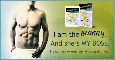 Manny teasers THREE Misadventures with a Manny by Toni Aleo