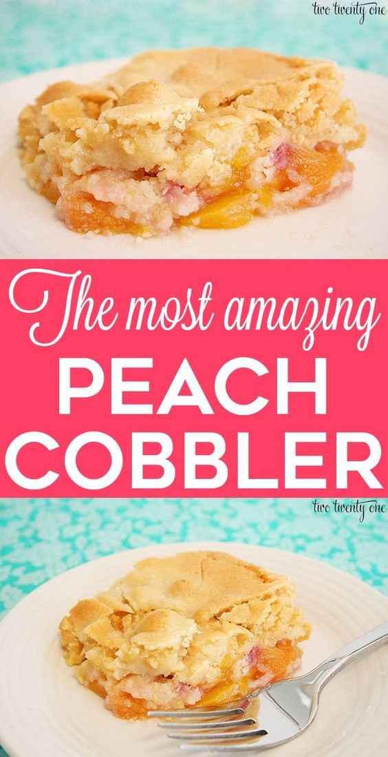 PEACH COBBLER RECIPE – A FAMILY FAVORITE #recipes #dessertrecipes #easyrecipes #easydessertrecipes #food #foodporn #healthy #yummy #instafood #foodie #delicious #dinner #breakfast #dessert #lunch #vegan #cake #eatclean #homemade #diet #healthyfood #cleaneating #foodstagram
