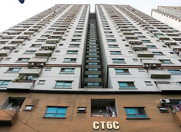 toà nhà CT6C Khu đô thị Kiến Hưng