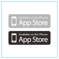 Available on the iPhone App Store Logo - Free Download File Vector CDR AI EPS PDF PNG SVG