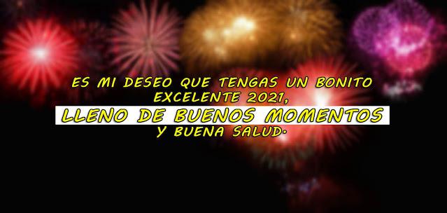 Frases de feliz año nuevo 2021