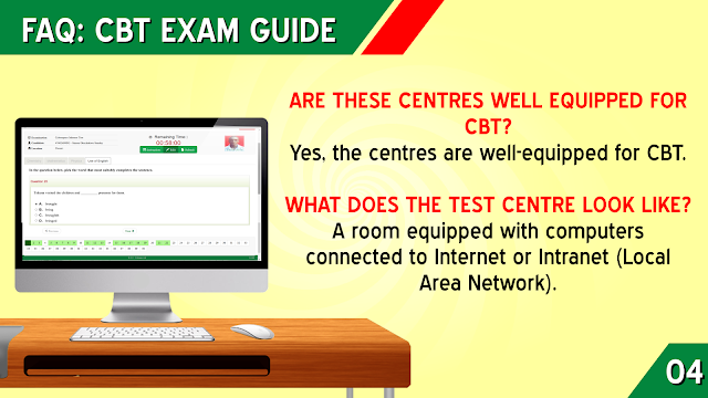 WHAT DOES THE TEST CENTRE LOOK LIKE?