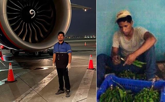Trabajó agricultura y delivery en colmado ahora es Manager en aerolínea Rusa