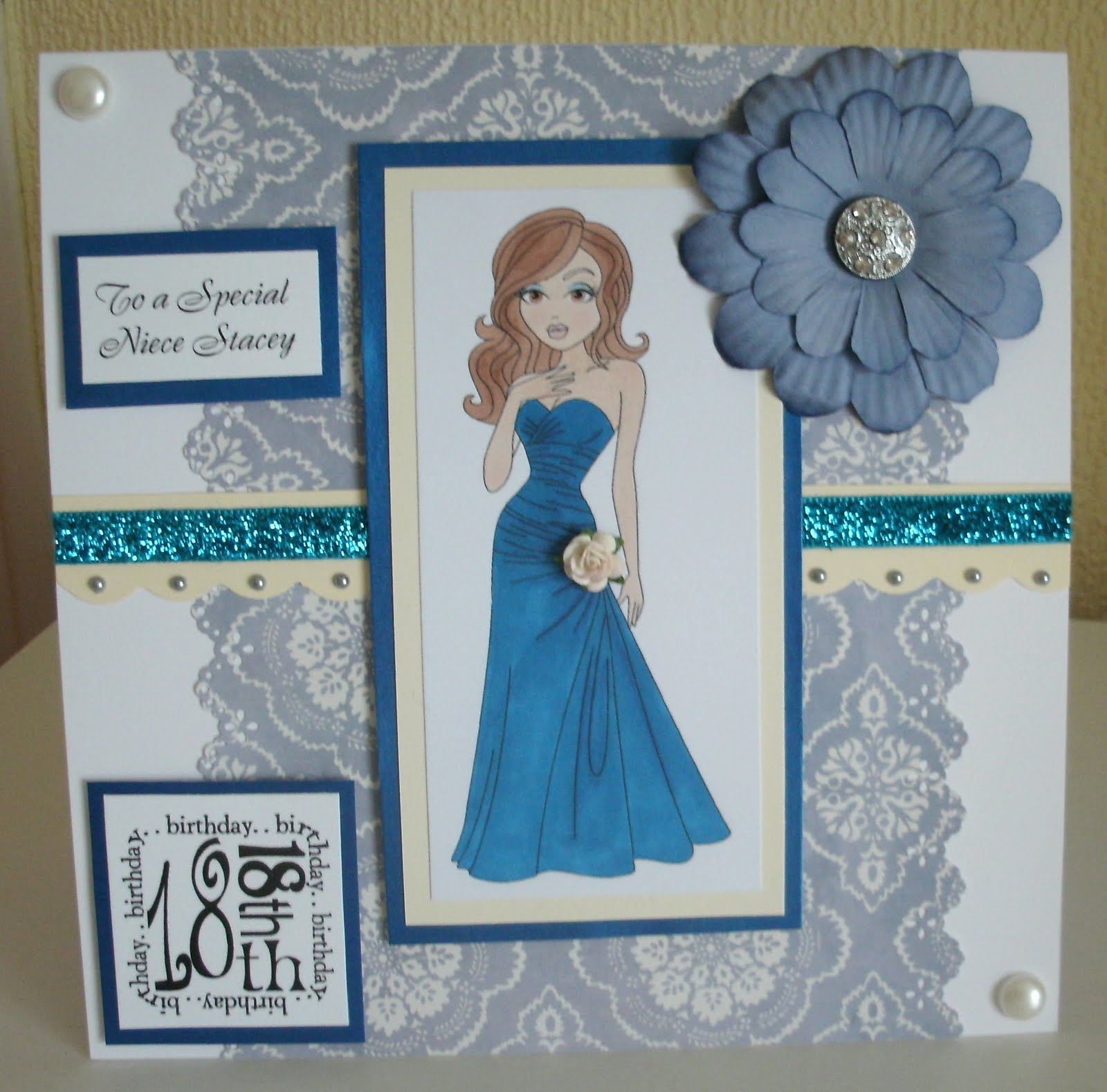 Designs By Gaynor Greaves 18th Birthday Card