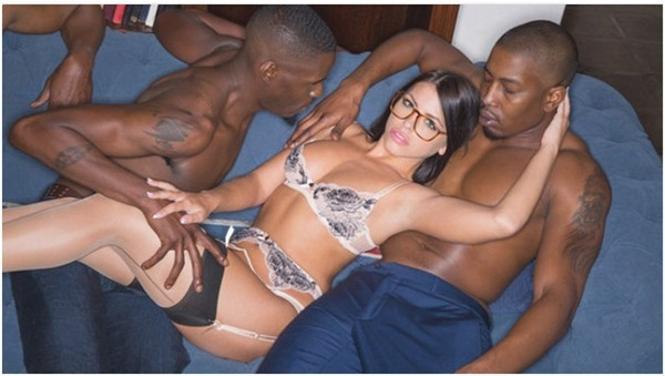 Watch xxx xvideo Brunette Babe Takes Trio of BBCs (Adriana Chechik, Isiah Maxwell & Jason Brown)