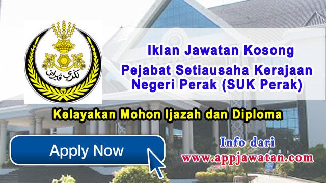 Pejabat Setiausaha Kerajaan Negeri Perak (SUK Perak)