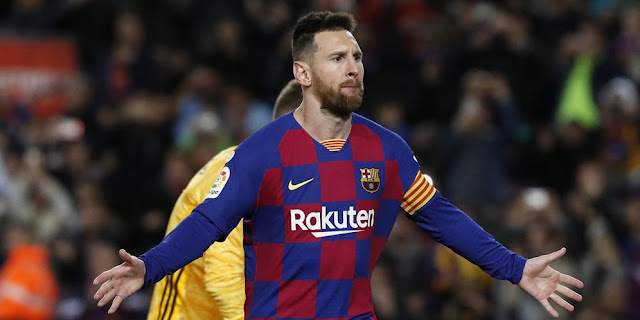 Barcelona fell in love with Messi through video