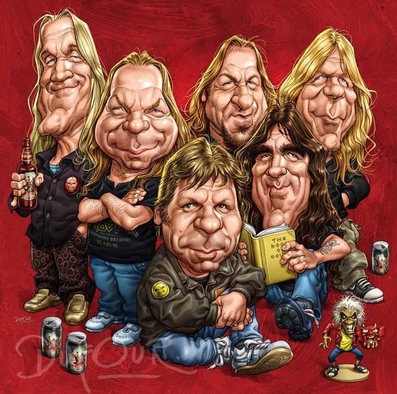 Iron Maiden 2 por Santiago Dufour