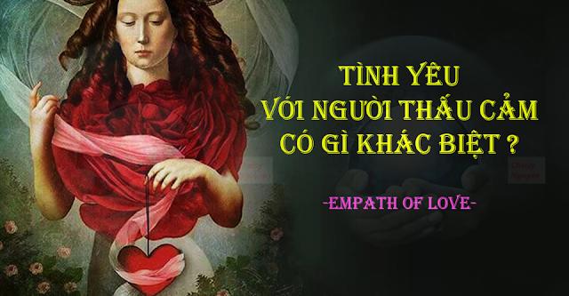 Tình yêu với người thấu cảm Empath